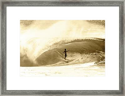 Pure Joy. Framed Print
