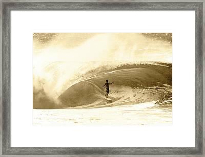 Pure Joy. Framed Print by Sean Davey