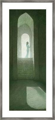 Pure Light Framed Print by Steve Mitchell