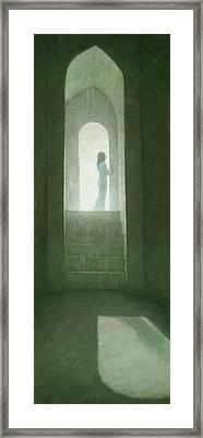 Pure Light Framed Print