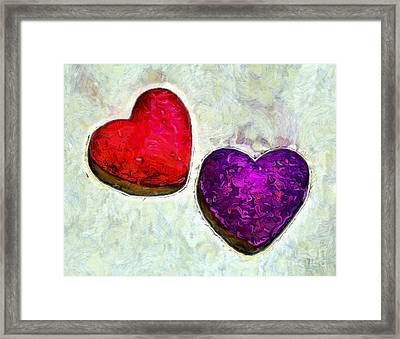 Pure Love Framed Print by Krissy Katsimbras