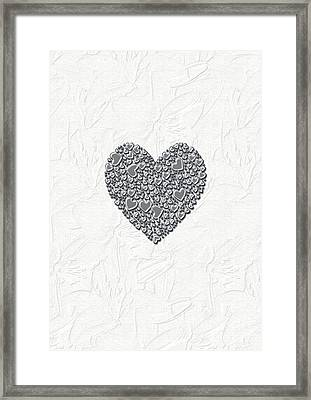 Pure Love Framed Print by Linda Prewer