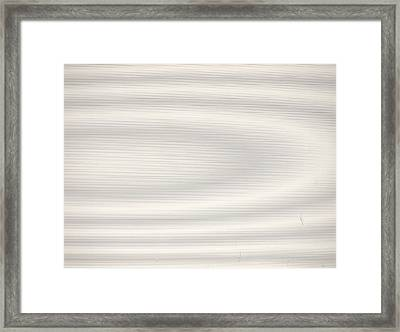 Pure Moire Framed Print by Jim DeLillo