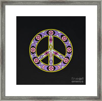 Pure Peace Framed Print by Joseph Sonday