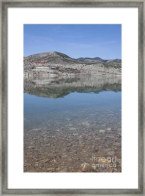 Pure Reflections Framed Print