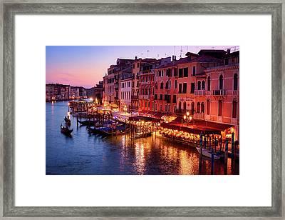 Pure Romance, Pure Venice Framed Print