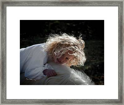 Purest Joy Framed Print by Terry Kirkland Cook