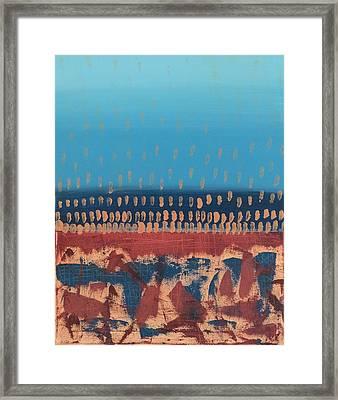 Purgatorio Rupestre Framed Print by Eve Schambach