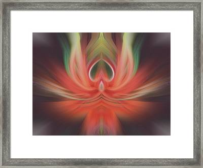 Purification Framed Print by Linda Phelps