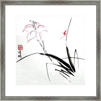 Purity Framed Print by Ming Yeung