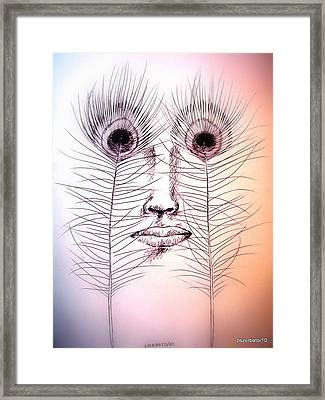 Purity Of The Soul Framed Print by Paulo Zerbato
