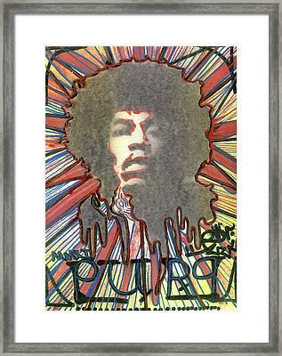Purp Framed Print by Robert Wolverton Jr