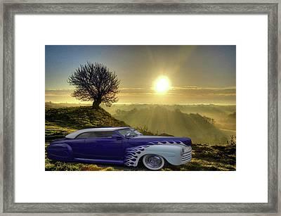 Purple Beauty Framed Print by Julie Grace
