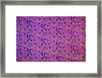 Purple Birds Framed Print by Tim Gainey
