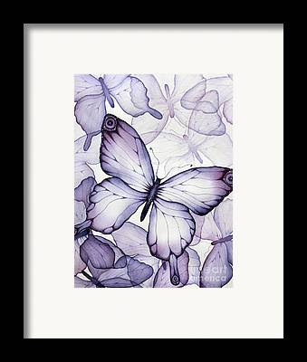 Transparent Watercolor Framed Prints