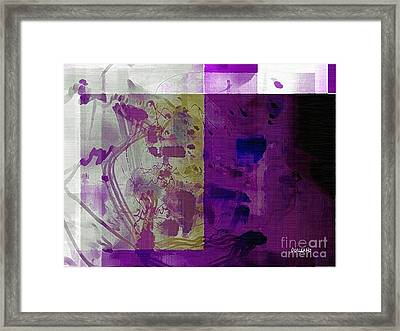 Purple Framed Print