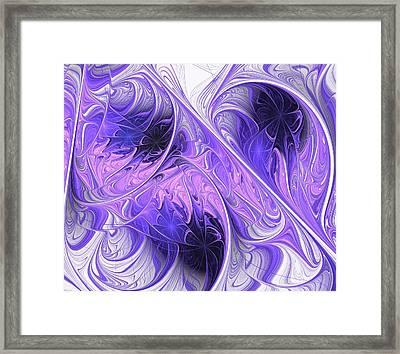 Purple Dream Framed Print by Anastasiya Malakhova