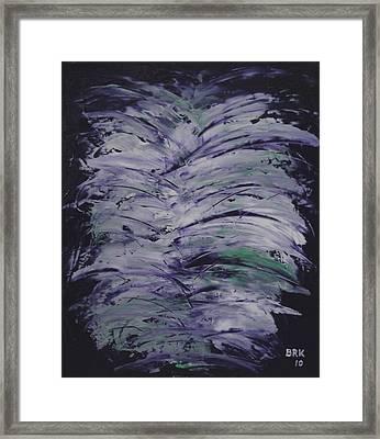 Purple Dream Framed Print by Bo Klinge