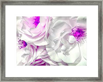 Purple Essence Framed Print