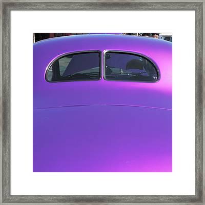 Purple Forty Framed Print