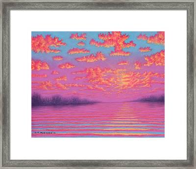 Purple Haze 01 Framed Print