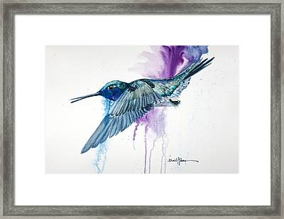 Da182 Purple Haze Daniel Adams Framed Print