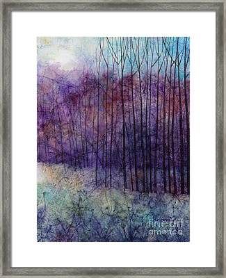 Purple Haze Framed Print by Hailey E Herrera