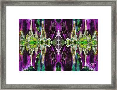Purple Haze Framed Print by Jolanta Anna Karolska