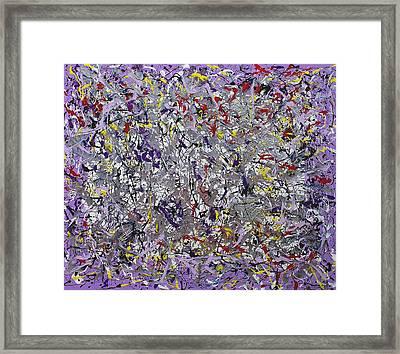 Purple Haze Framed Print by Wayne Salvatore