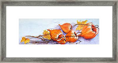 Purple Hue Framed Print by Dawn Broom