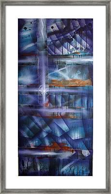 Purple Framed Print by Leigh Odom