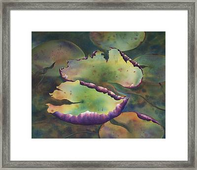 Purple Linings I Framed Print