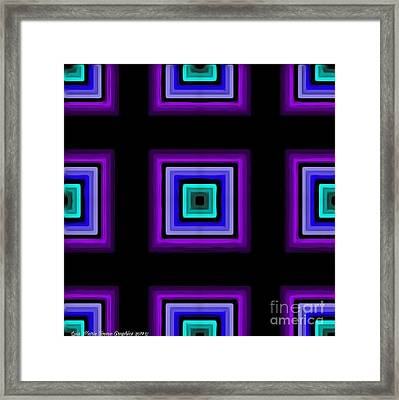 Purple Love Framed Print