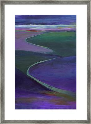 Purple Moor Framed Print