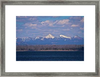 Purple Mountains Majesty Framed Print by Brent Parks