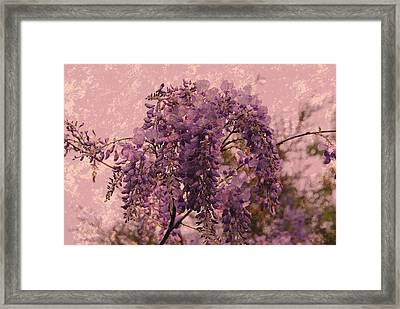 Purple Pleasures Framed Print