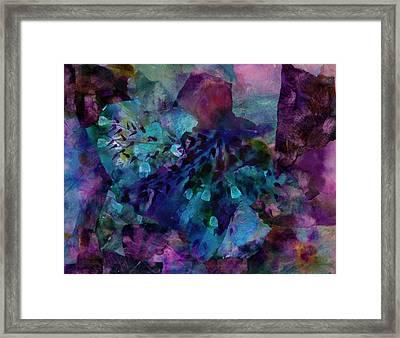 Purple Rain  Framed Print by Don Wright