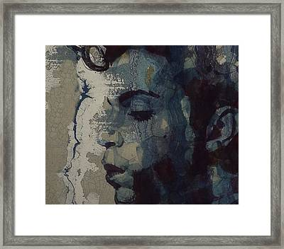 Framed Print featuring the mixed media Purple Rain - Prince by Paul Lovering