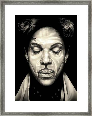 Purple Reign Framed Print by Fred Larucci