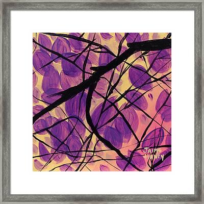 Purple Reign Framed Print by Jaime Haney