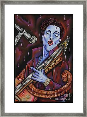 Purple Reign Framed Print by Nannette Harris