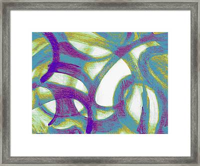 Purple Soul Framed Print
