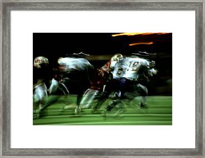 Pursuit Framed Print by Tom Fant