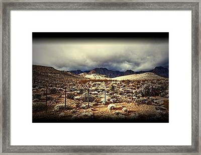 Framed Print featuring the photograph Push by Mark Ross