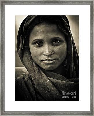 pushkar girl II Framed Print