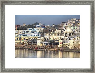 Pushkar - India Framed Print by Joana Kruse