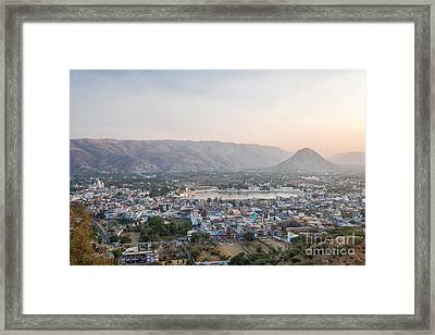 Framed Print featuring the photograph Pushkar by Yew Kwang