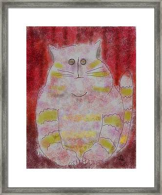 Pussy Cat Framed Print