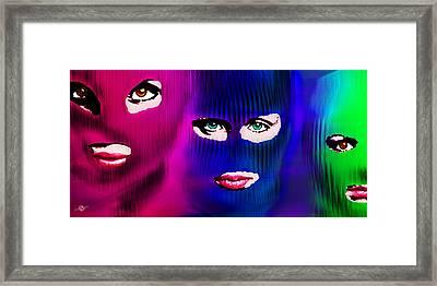 Pussy Riot Framed Print by Tony Rubino