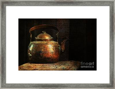 Put The Kettle On Framed Print by Lois Bryan